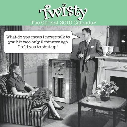 Official Calendar 2010 Twisty Kalendarz 2017