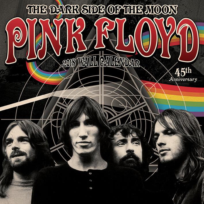 Pink Floyd Kalendarz 2018