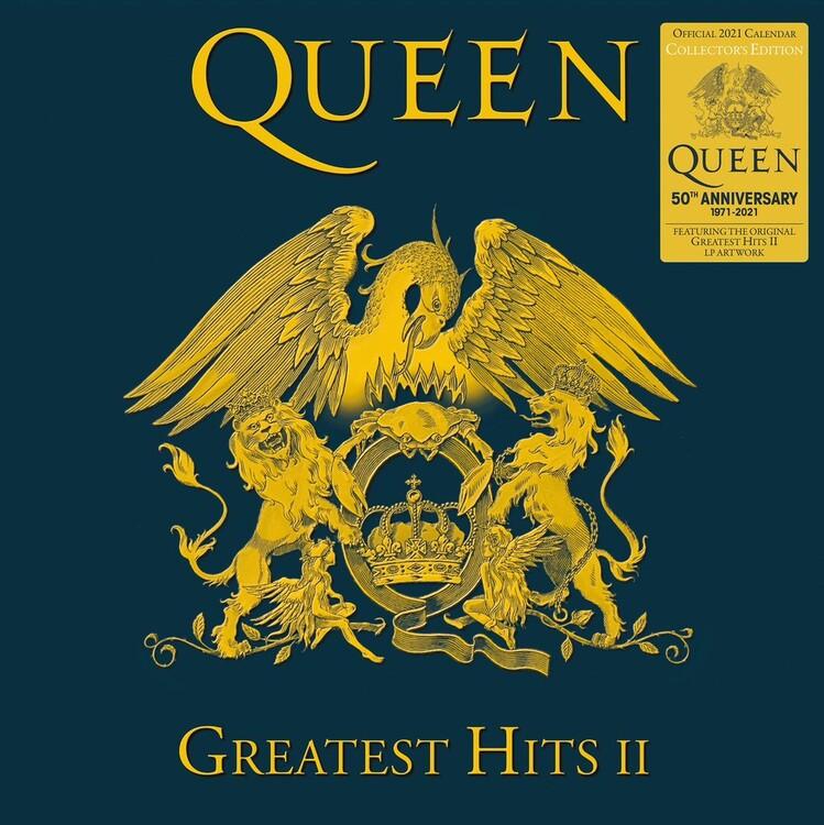 Queen - Collector's Edition Kalendarz 2021