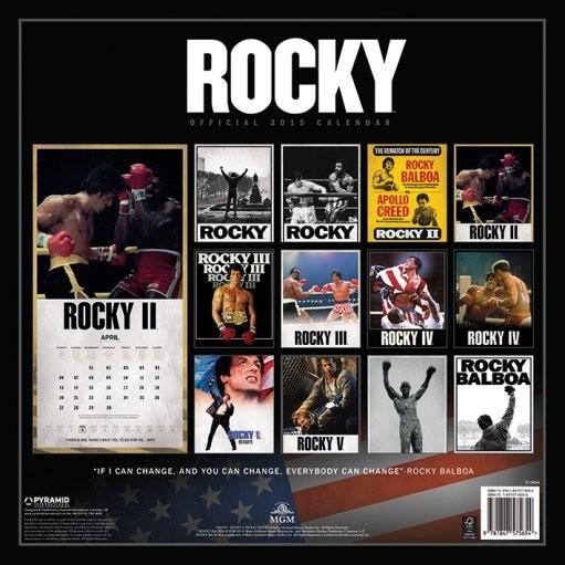Rocky Kalendarz 2019