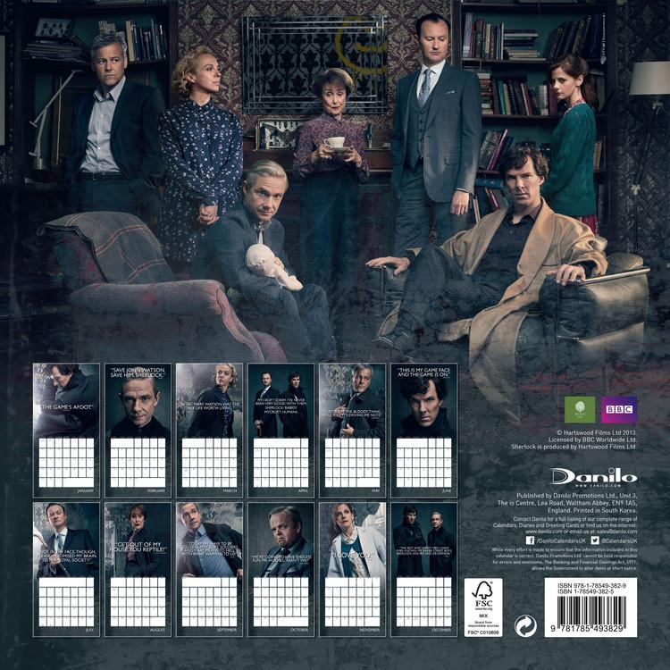 Sherlock Kalendarz 2019