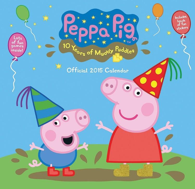 Świnka Peppa - Peppa Pig Kalendarz 2017