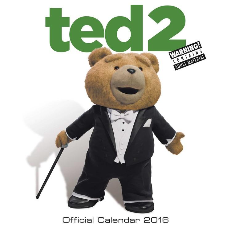 Ted 2 Kalendarz 2017