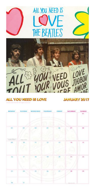 The Beatles Kalendarz 2018