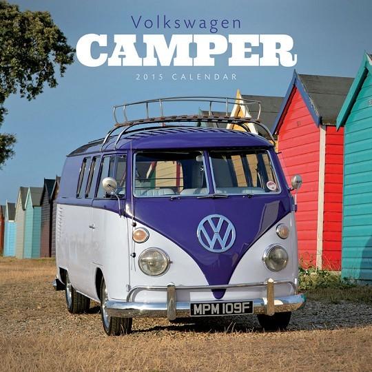 VW Volkswagen - Camper Kalendarz 2017