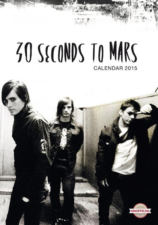 Kalender 2019 -  30 Seconds to Mars