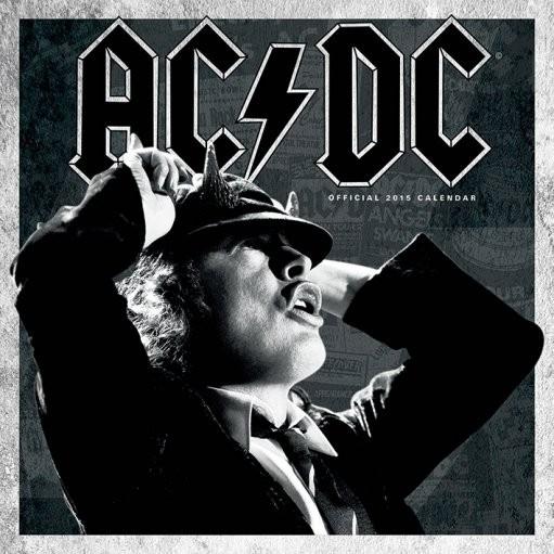 AC/DC - Kalender 2016