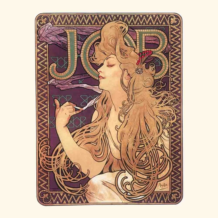 kalender 2019 alphonse mucha poster art bei europosters. Black Bedroom Furniture Sets. Home Design Ideas