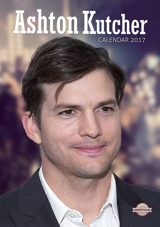 Kalender 2017 Ashton Kutcher