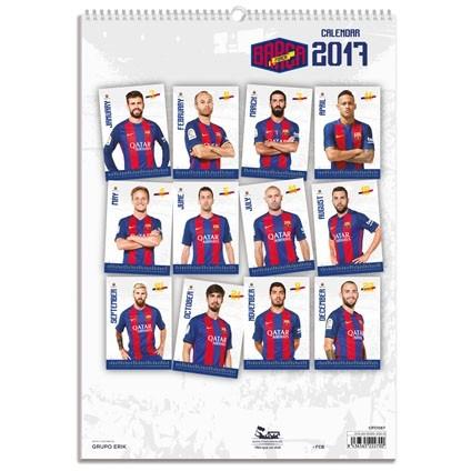 Barcelona Kalender 2018