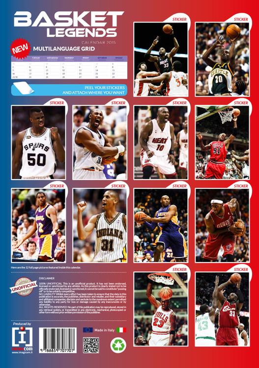 Kalender 2019  Basket