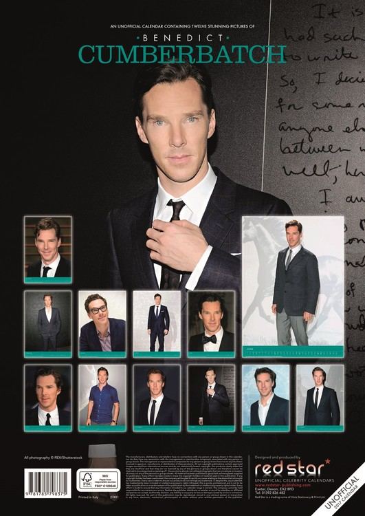 Benedict Cumberbatch Kalender 2018