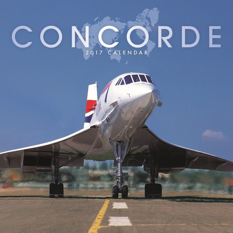 Concorde Kalender 2017