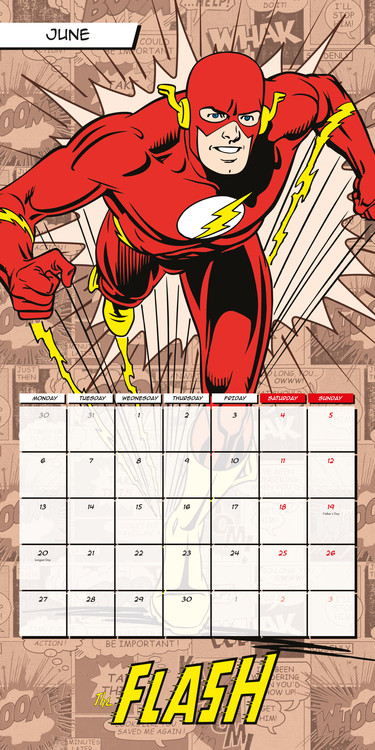 Kalender 2018  DC Comics