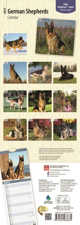 Kalender 2018 Deutscher Schäferhund
