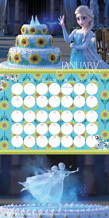 Kalender 2019  Die Eiskönigin: Völlig unverfroren