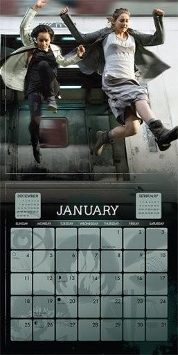 Kalender 2018  Divergent
