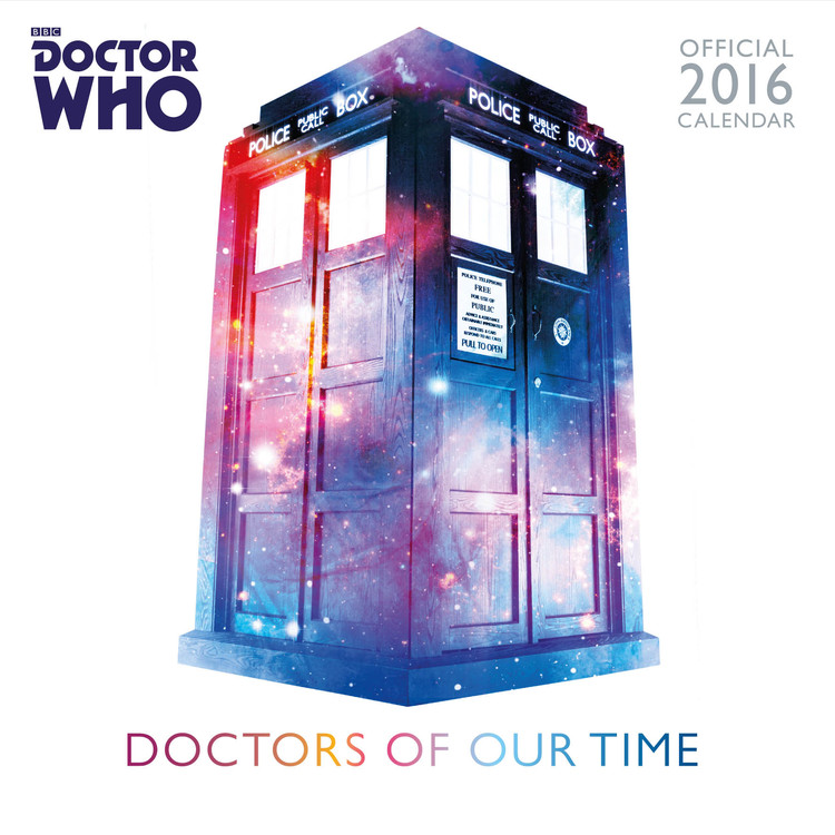 Kalender 2018 Doctor Who - Classic Edition