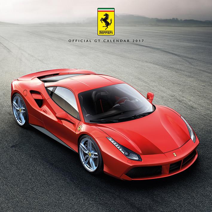 Kalender 2018 Ferrari