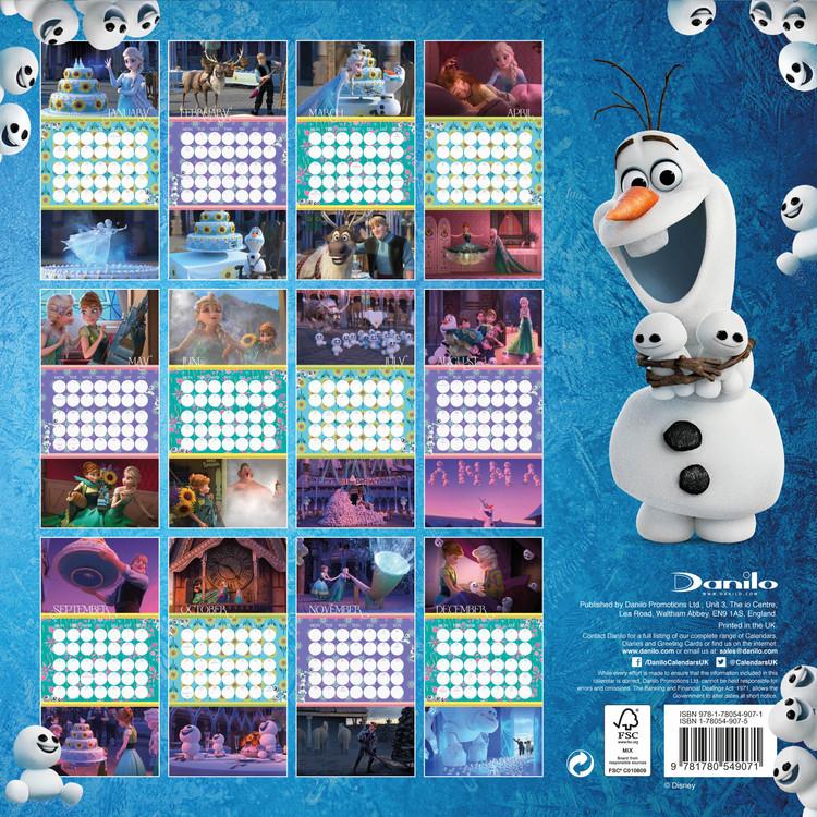 Kalender 2018  Frost