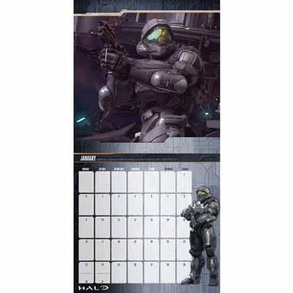 Halo Kalender 2018