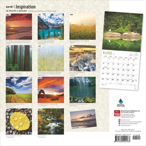 Kalender 2018  Inspiration