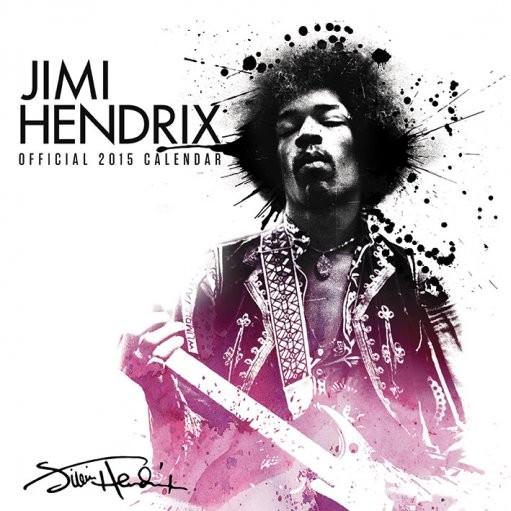 Kalender 2017 Jimi Hendrix