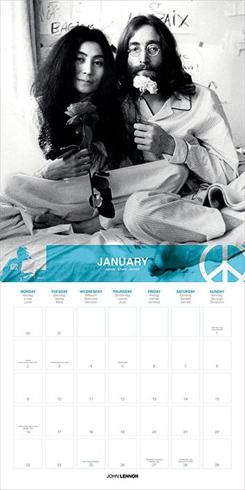 John Lennon Kalender 2018