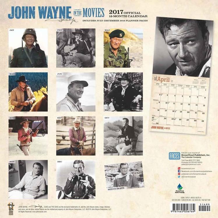 John Wayne Kalender 2018