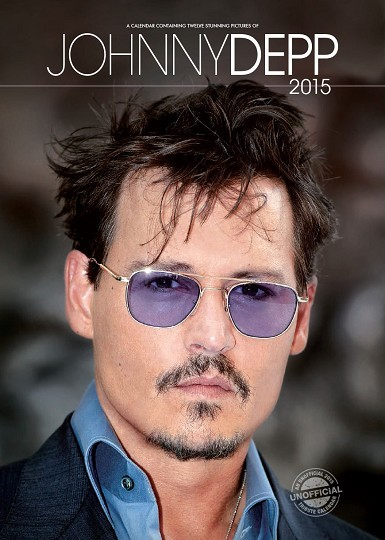 Kalender 2017 Johnny Depp