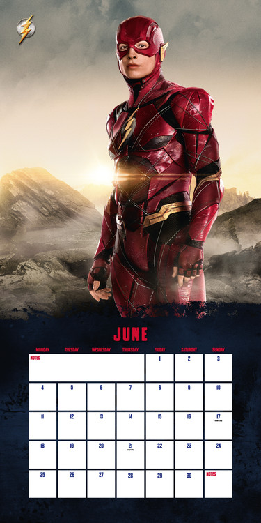 Kalender 2018  Justice League