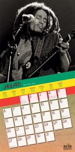 Kalendář 2013 - BOB MARLEY Kalender 2019