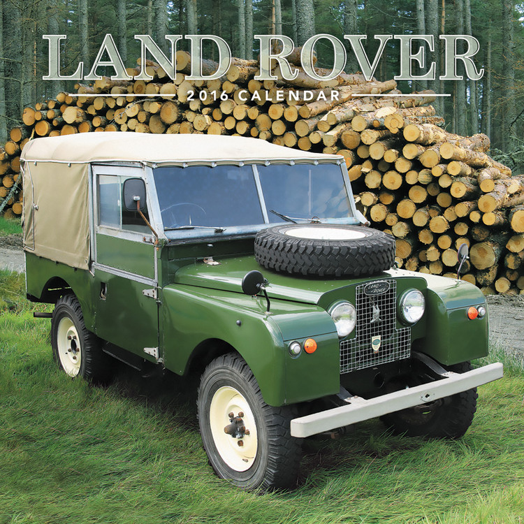 kalender 2019 land rover bei europosters. Black Bedroom Furniture Sets. Home Design Ideas
