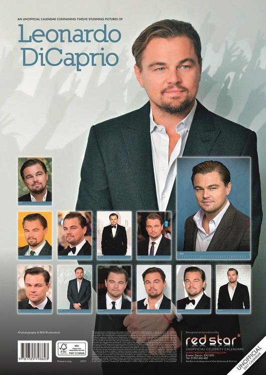 Leonardo DiCaprio Kalender 2018