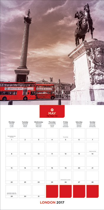 Londen Kalender 2018