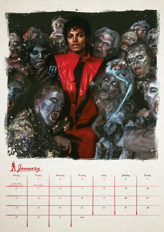 Kalender 2019  Michael Jackson