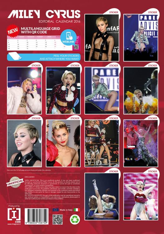 Kalender 2021 Miley Cyrus bei EuroPosters