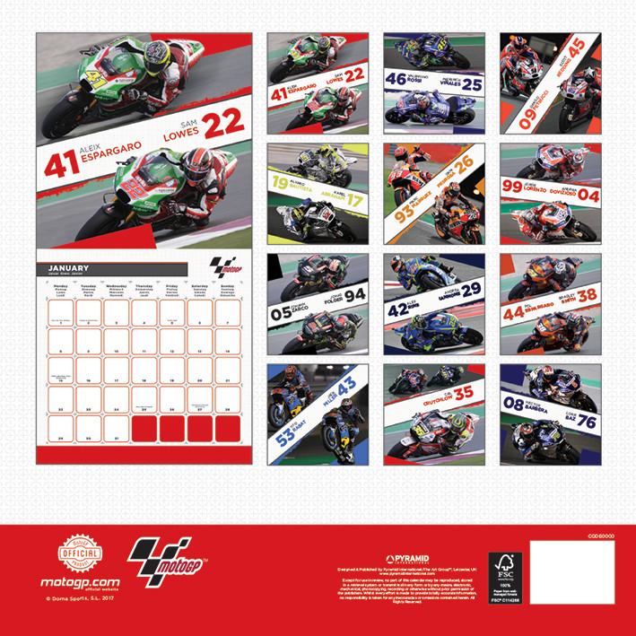 Moto GP Kalender 2018