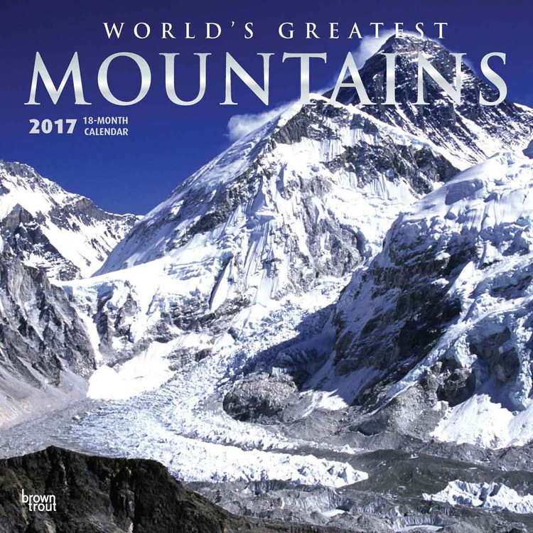 Kalender 2017 Mountains - Worlds Greatest