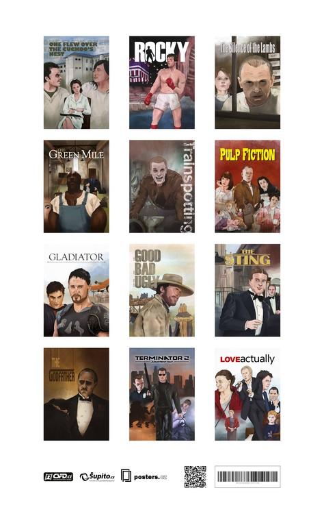 Movie Calendar 2017 - A Tribute To Movie Classics Kalender 2018