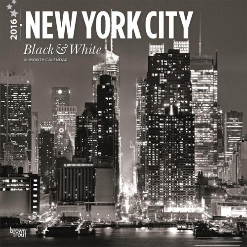 bestel een new york black white kalender 2019 op. Black Bedroom Furniture Sets. Home Design Ideas