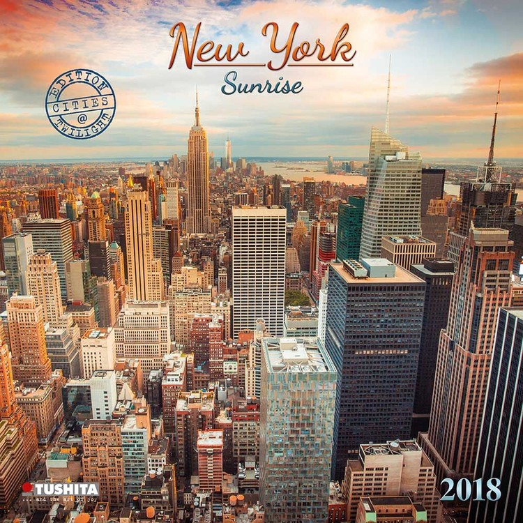 kalender 2019 new york sunrise. Black Bedroom Furniture Sets. Home Design Ideas