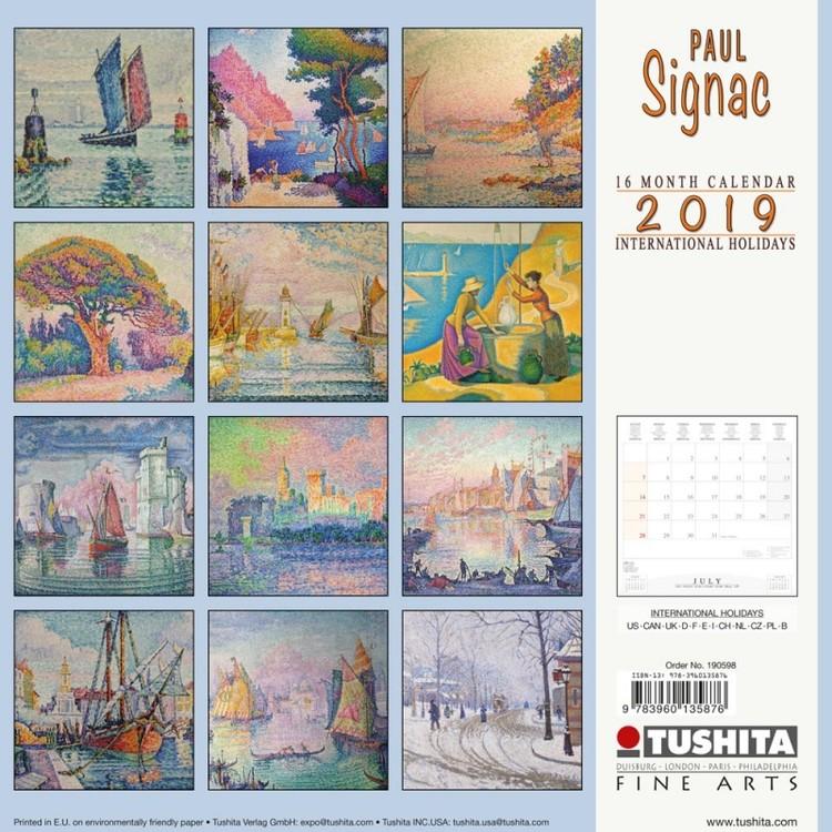 Kalender 2021 Paul Signac - EuroPosters.se