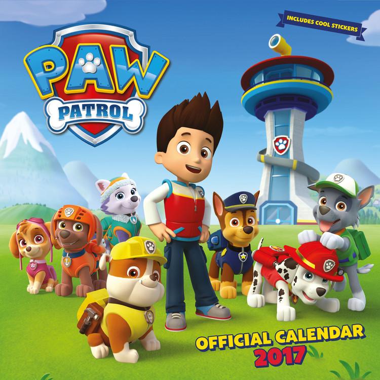 Paw Patrol Kalender 2017