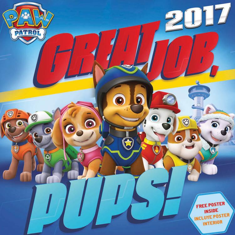 Kalender 2017 Paw Patrol