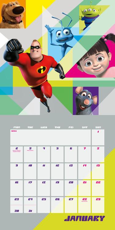 Kalender 2018 Pixar