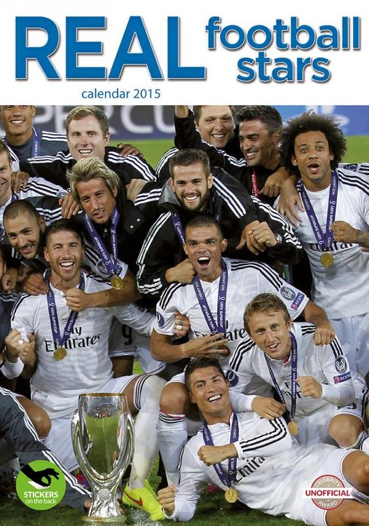 Kalender 2017 Real Madrid FC