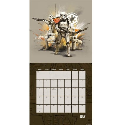 Kalender 2018 Rogue One: A Star Wars Story