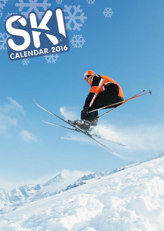 Kalender 2017 Skifahren