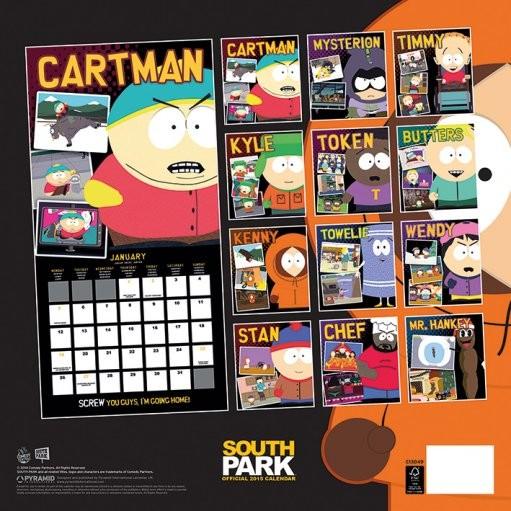 Kalender 2019  South Park